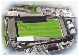 Millmoor Stadium Art - Rotherham United #8652039