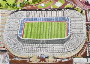 Murrayfield Rugby Stadia Art - Scotland Rugby Union # 10101237