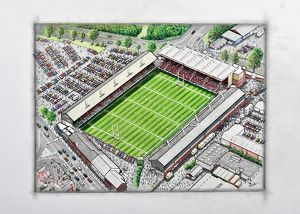 Welford Road Stadium Art - Leicester Tigers # 9177304