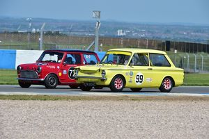 Barrie 'Whizzo' Williams, Andy 'Ace' Harrison, Austin Mini Cooper S
