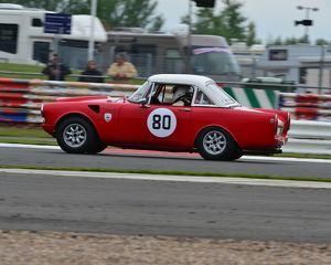 CJ3 6407 Neil Merry, Terry van der Zee, Sunbeam Tiger