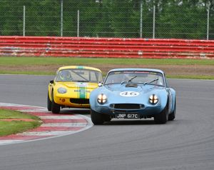 CJ3 6920 Michael Whitaker, TVR Griffith, JNP 617 C, Nick Fleming, Lotus Elan S1