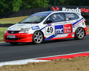 CJ7 3628 David Hutchins, Honda Civic Type R