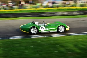 CM1 3134 Mark Gibbon, Lister Chevrolet Knobbly, Salvadori Cup