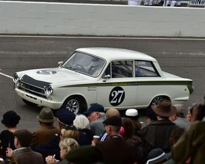CM10 6709 Kerry Michael, Mark Blundell, Ford Lotus Cortina Mk1