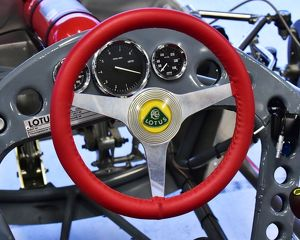 CM16 8583 Red steering wheel, Lee Penson, Lotus 51