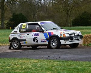 CM17 7534 Domenic Delaney, Tom Delaney, Peugeot 205 Gti Gp A