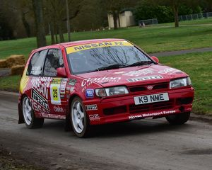 CM17 7701 Chris Butcher, Andy Hollingham, Nissan Sunny F2