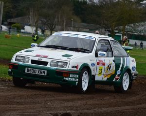 CM17 7731 Duncan Waite, Keith Garton, Ford Sierra Cosworth