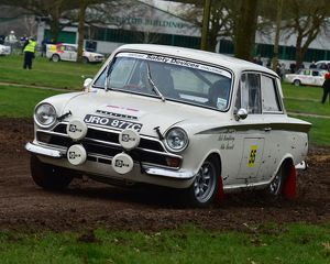 CM17 7791 Mike Barratt, Rob Humphreys, Ford Lotus Cortina
