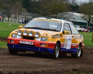 CM17 7844 Jason Lepley, Ford Sierra Cosworth
