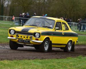 CM17 8025 Ian Houston, Adam Houston, Ford Escort Mk1 RS2000