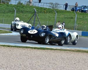 CM2 0693 Harry Wyndham, Jaguar D-Type A SJ 329