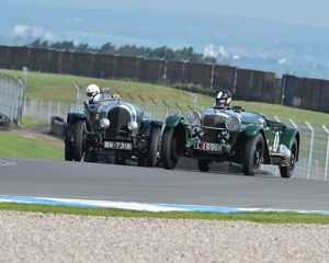 CM2 1545 Jock MacKinnon, Bentley 3 litre tourer, BN7318, Rudiger Friedrichs, Alvis 20 SA