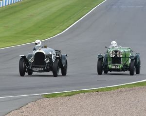 CM2 2132 Ewen Getley, Bentley3-4½, DD 5849, Nick Pellett, Talbot 105 Team Car, GO 54
