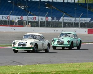 CM2 4540 Simon Gurney, MGA Coupe, Andrew Moore, MGA Coupe, Historic Road Sports