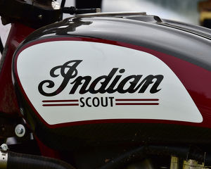 CM23 8894 Indian Scout fuel tank