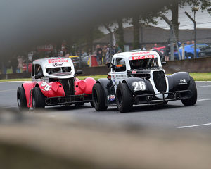 CM23 9156 Rickie Leggatt, 34 Ford Coupe, Neil Shenton, 37 Ford Sedan