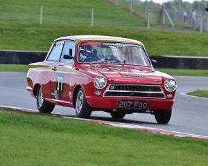 CM3 0001 Mike Gardiner, Ford Lotus Cortina, 207 FOO