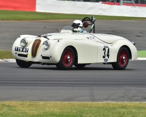 CM3 9239 Christopher Scholey, Rob Newall, Jaguar XK120, TTB 87