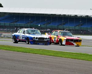 CM3 9702 Paul Pochciol, Jaguar XJ12, Colin Turkington, Sam Hancock, BMW CSL