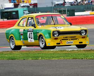 CM3 9734 Michael Bell, Cliff Ryan, Ford Escort, Hairy Canary