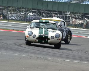 CM3 9799 Ian Simmonds, Jaguar E-Type, BHK 278 A