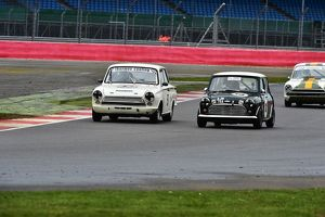 CM6 7514 Jason Brooks, Austin Mini Cooper, David Hall, Ford Cortina