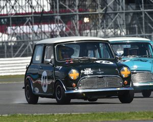 CM9 3972 Graham Churchill, Peter Baldwin, Austin Mini Cooper S