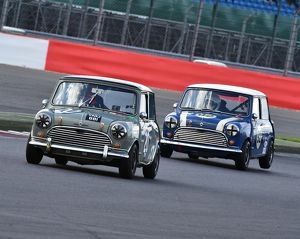 CM9 4656 Tim Stanbridge, Morris Mini Cooper S, Steve Jones, Morris Mini Cooper S