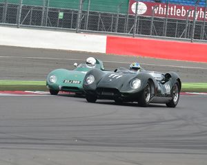 Hans Hubner, Tojeiro Jaguar, Stirling Moss Trophy, David Axisa, Jacques Naveau