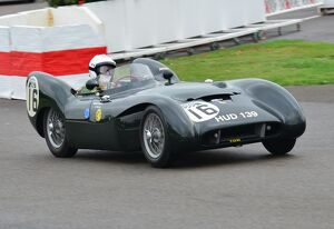 Malcolm Ricketts, Lotus Climax Mk IX, Goodwood Revival 2013