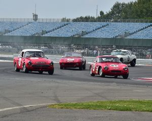 Rick Bourne, Paul Malcolm, TVR Grantura, PWC 600, Paul Burry, Simon Orebi-Gann, Morgan