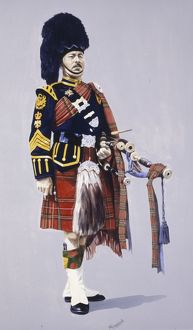 Pipe Major - Royal Scots Dragoon Guards