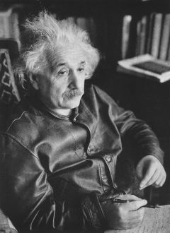 Albert EINSTEIN (1879-1955), German-Swiss-American mathematical physicist
