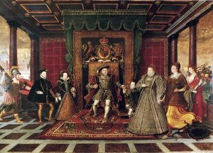 Allegory of the Tudor Succession (Sudeley Castle), c. 1572 The Family of Henry VIII