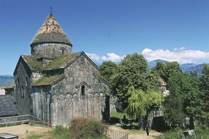 world heritage/building exterior/armenia monasteries haghpat sanahin church st