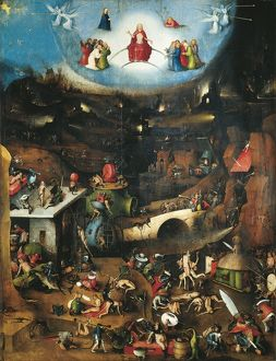 Austria, Vienna, The Last Judgment triptych, oil on panel