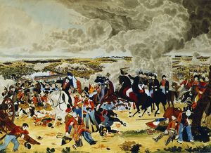 history/battle waterloo 18 june 1815 wellington staff