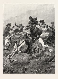 Battles Of The British Army: Ramillies; Narrow Escape Of Marlborough From French Dragoons