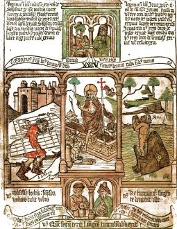 The Biblia pauperum ('Paupers' Bible') was a picture Bible to portray