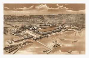 Bird's Eye View Of The World's Columbian Exposition