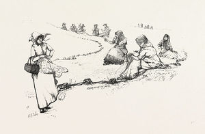 CANADA OUTDOORS, CANADA, NINETEENTH CENTURY ENGRAVING