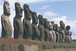 Chile, Easter Island, Rapa-Nui National Park (UNESCO World Heritage List, 1995)