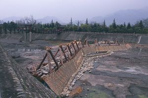 China, Sichuan, River Min Chiang, Dujiangyan Irrigation System
