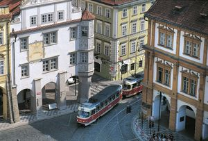 world heritage/building exterior/czech republic bohemia prague lesser town