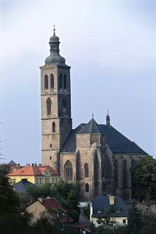 world heritage/vertical/czech republic central bohemia kutna hora gothic