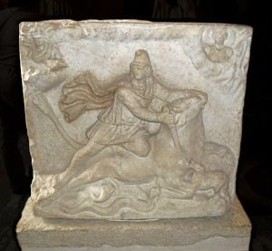 Double-sided Mithraic Relief 2nd Century A.D.