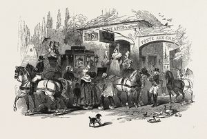 THE END OF THE SEASON, 1846, OFF TO PARIS: CHANGING HORSES
