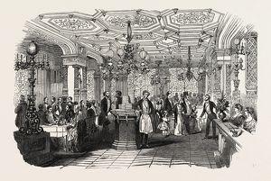 THE END OF THE SEASON, 1846, OFF TO PARIS: PARISIAN CAFE